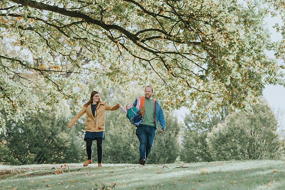 Wrexham Family Photographer | Autumn Outdoor Session