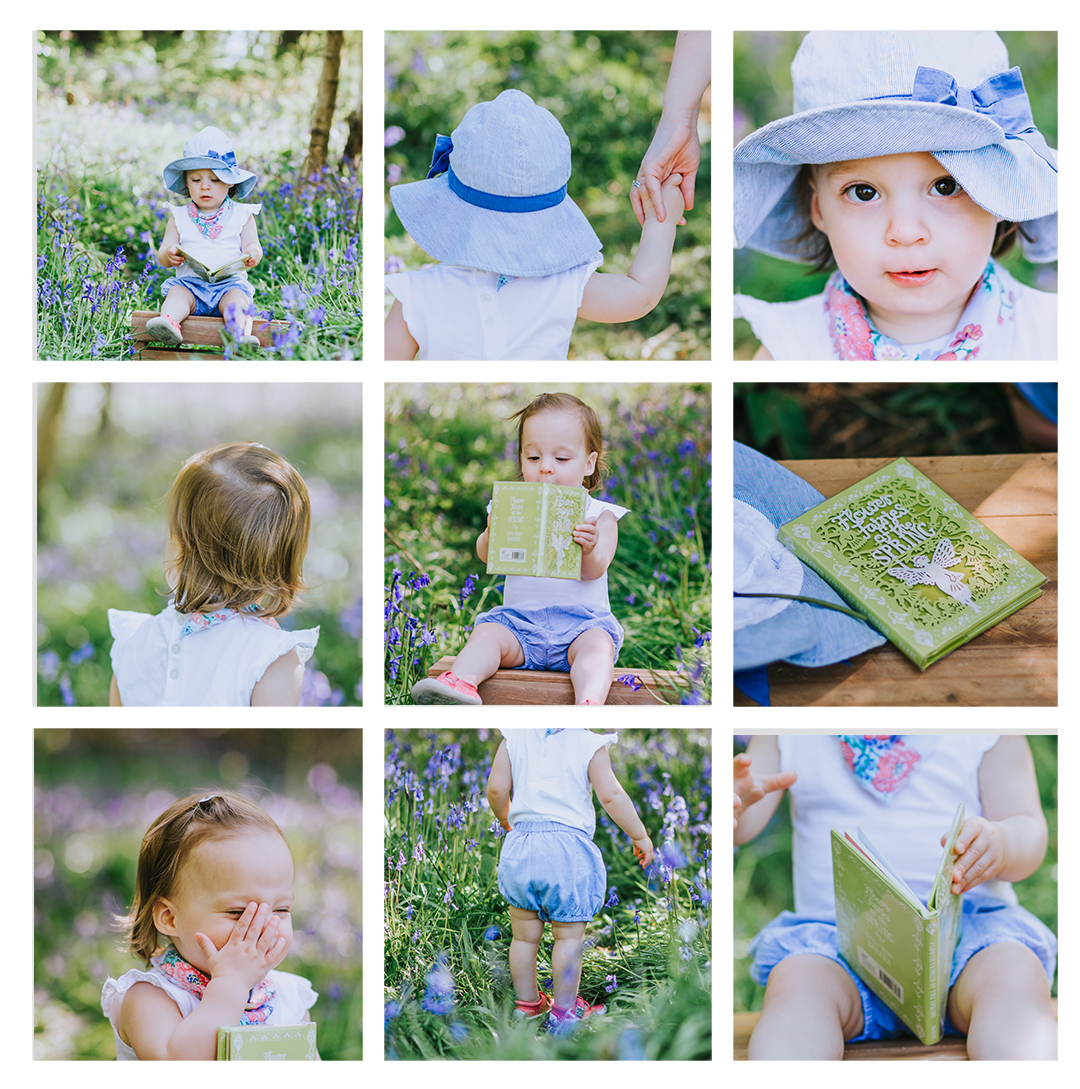 Bluebell mini sessions wrexham