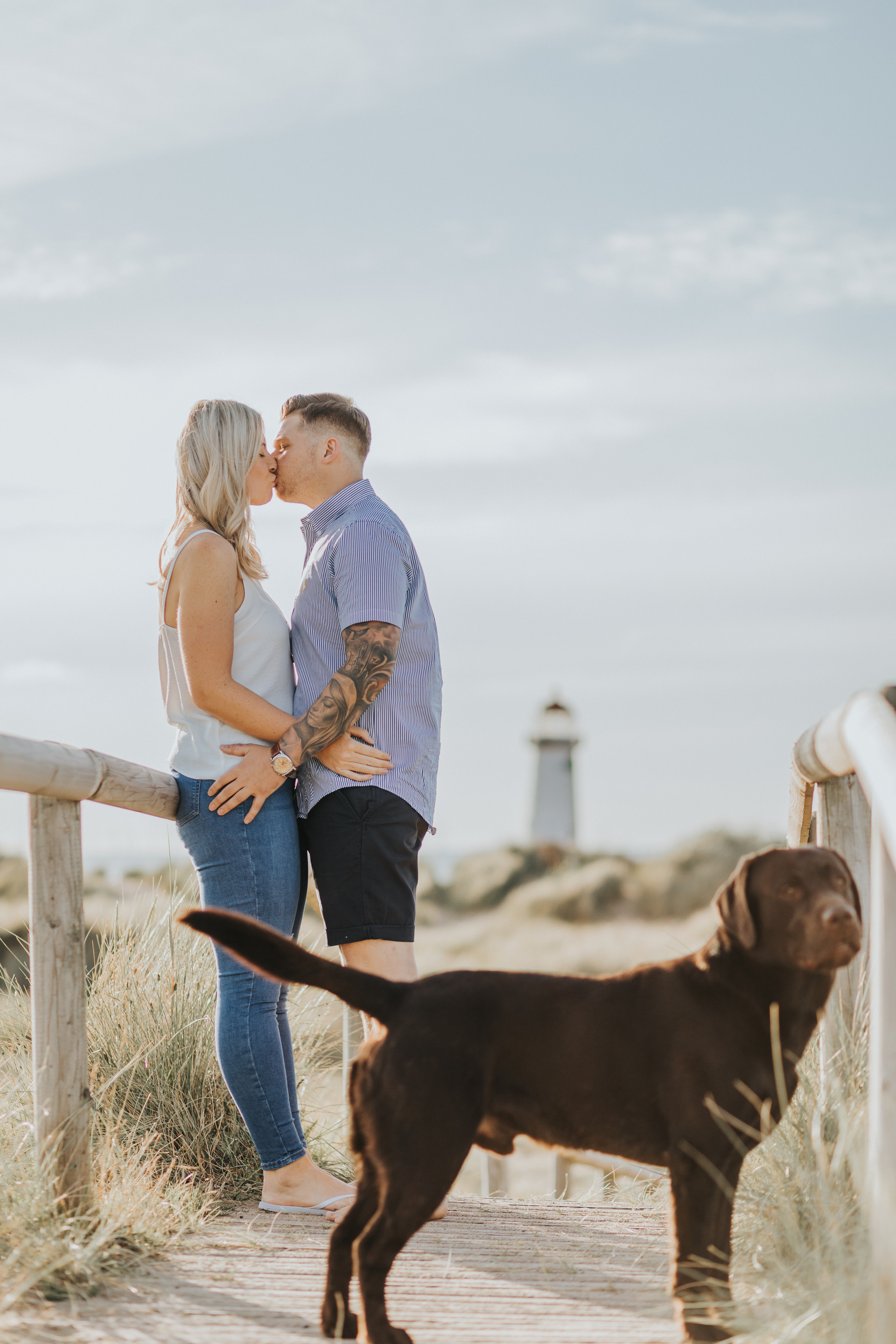 Engagement Session Talacre Beach